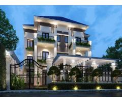Bán Biệt Thự Hẻm Xe Tải Nguyễn Văn Linh, Khu phố 4 Bình Thuận Quận 7. 0937539888
