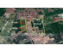 cần bán lô đất LK13, lô góc dự án Dabaco, thuận thành, Bắc Ninh giá chỉ 31,5tr/m